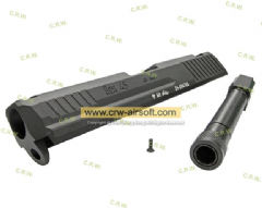 RA Marui HK.45 CNC Aluminum Slide & CNC Steel Outer barrel 14MM CCW (BC)